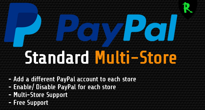 PayPal Standard Multi-Store