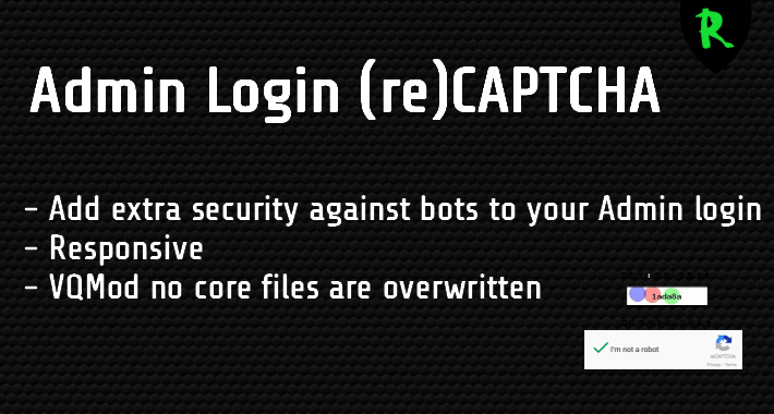 Admin Login (re)CAPTCHA