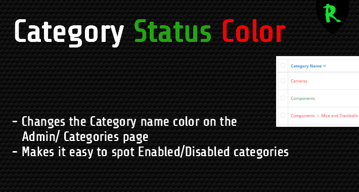 Category Color Status