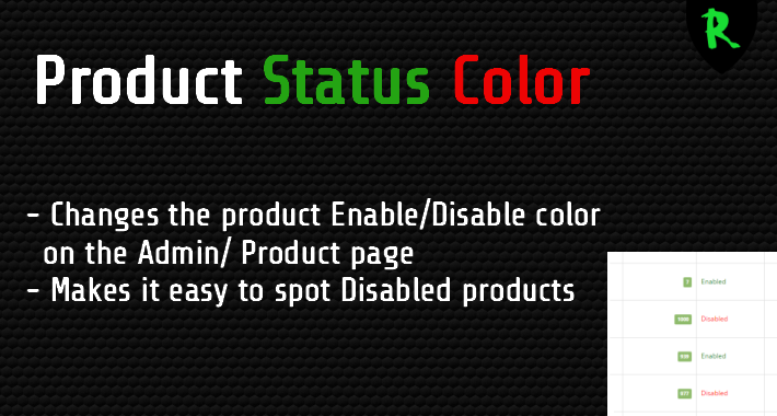 Product Color Status