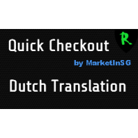 Quick Checkout - Dutch Translation