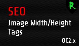SEO Image Width Height Tags