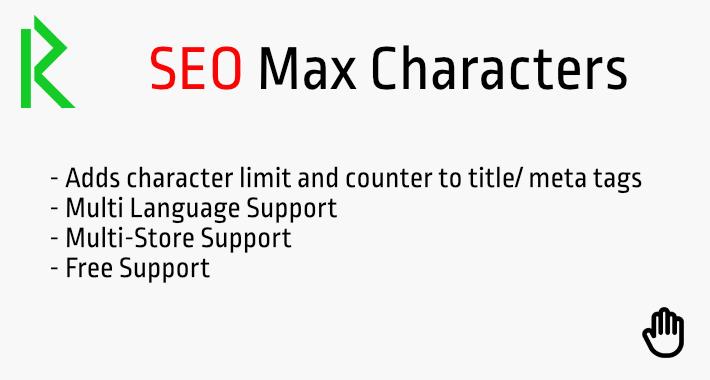 SEO Max Characters