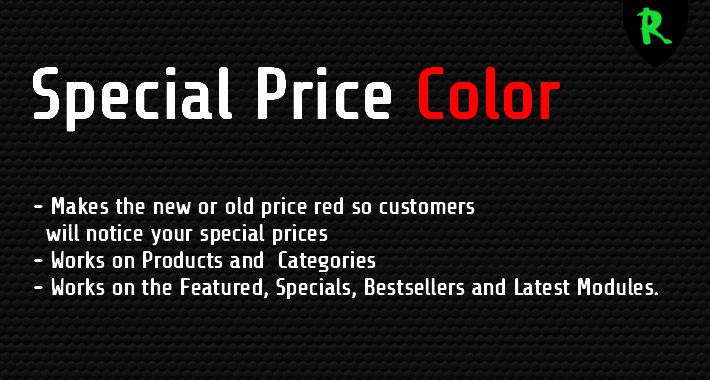 Special Price Color