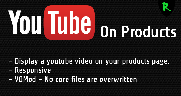 YouTube On Products